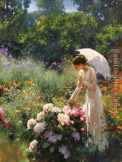 2011 Richard S Johnson Flower Garden Love
