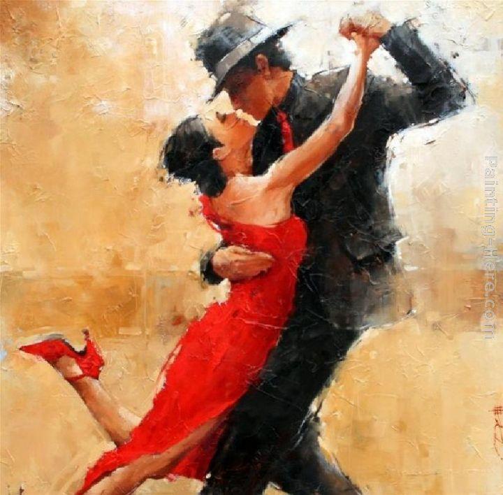 Tango Dance Painting