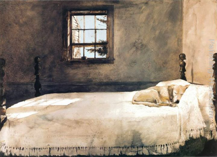 Andrew Wyeth Master Bedroom painting anysize 50% off