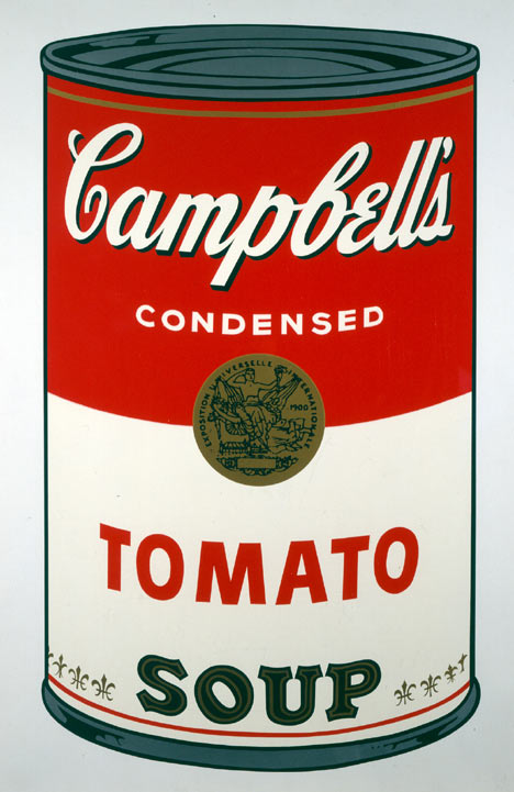 andy warhol tomato soup painting anysize 50 off. Black Bedroom Furniture Sets. Home Design Ideas