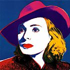 Andy Warhol Ingrid with Hat