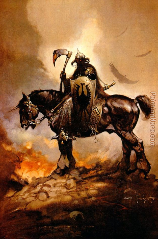 Frank Frazetta The Death Dealer I