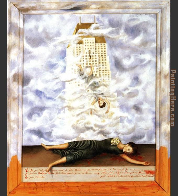 Frida Kahlo The Suicide of Dorothy Hale