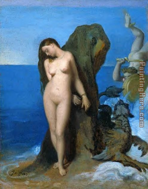 Jean Auguste Dominique Ingres Perseus and Andromeda