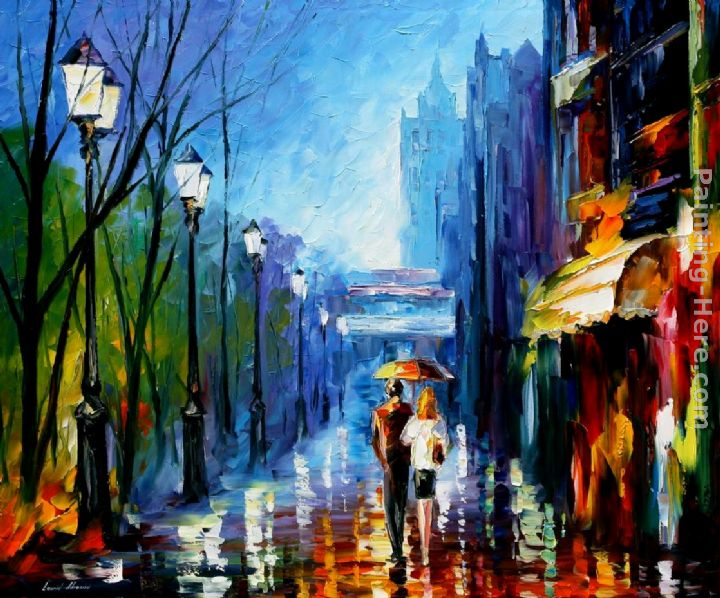 Leonid Afremov MEMORIES OF PARIS