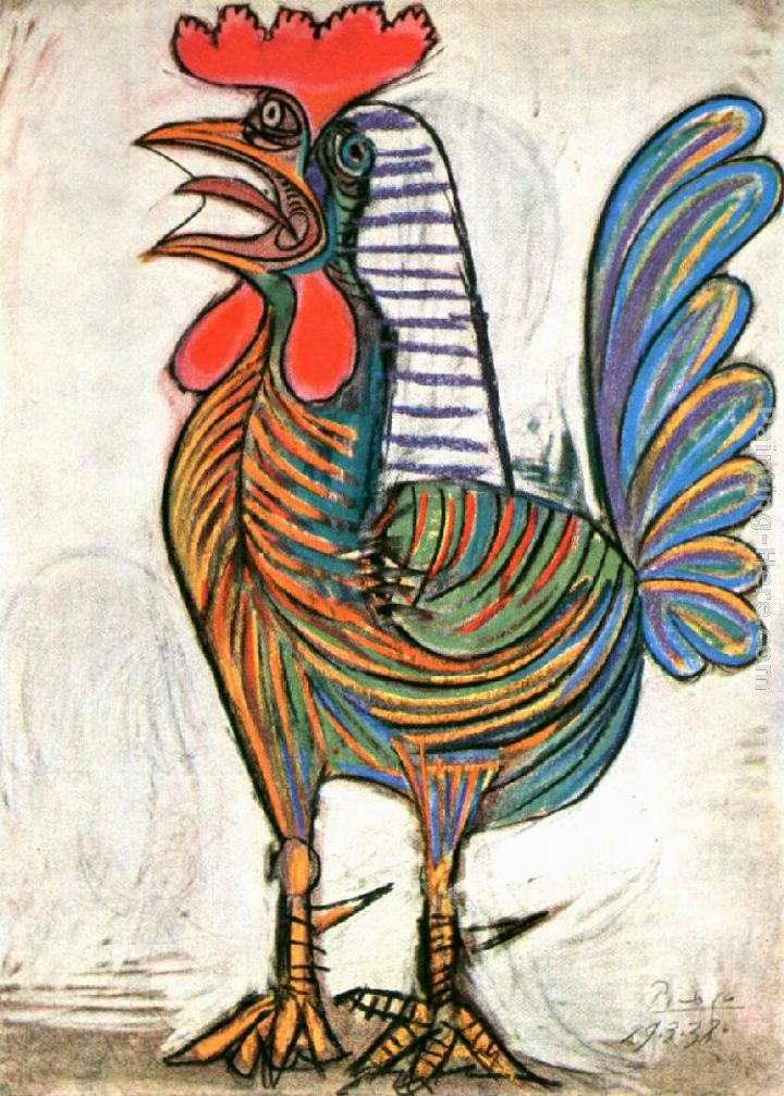 Pablo Picasso The Cock 1938