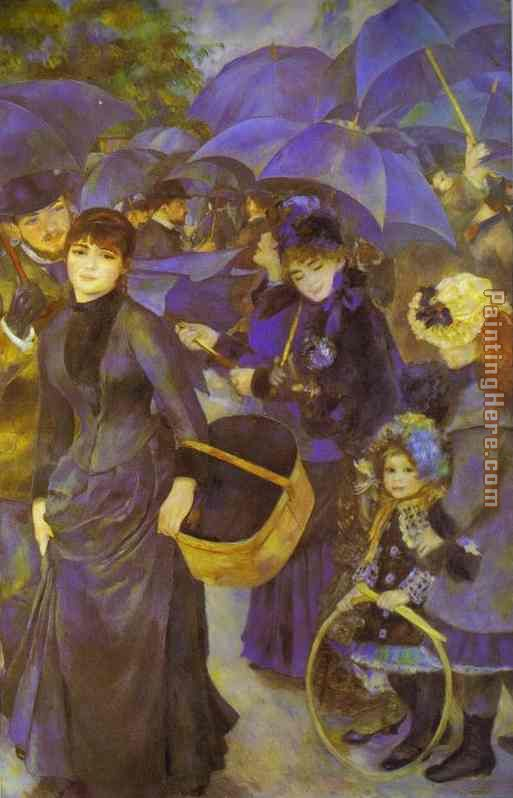 Pierre Auguste Renoir The Umbrellas