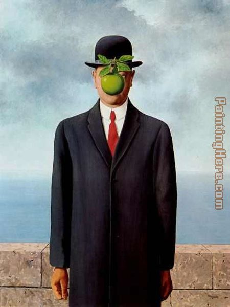 Rene Magritte The Son of Man