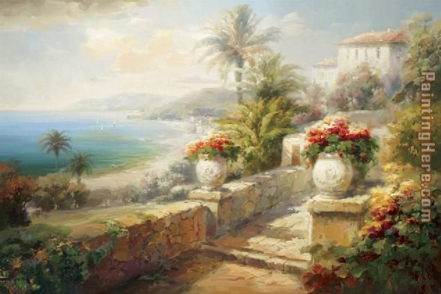 Roberto Lombardi Capri Villa Painting Anysize 50 Off