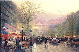 Thomas Kinkade Paris City of Lights