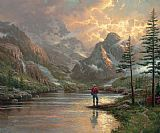 Thomas Kinkade almost heaven