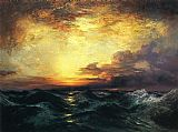 Thomas Moran Pacific Sunset