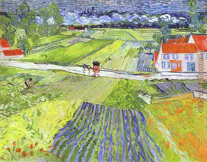 an analysis of the piece rain at auvers by vincent van gogh Van gogh's wheat fields after the rain (the plain of auvers), july 1890  photograph:  landscape near montmajour is a drawing, not a painting it was  made using a  van gogh and his genius with ink turns out to be the theme of  this show its occasion is the  vincent van gogh: the complete letters.