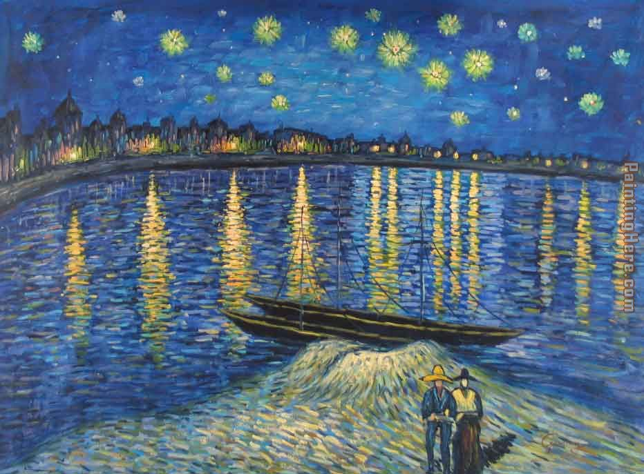 Starry Night Over the Rhône - Wikipedia