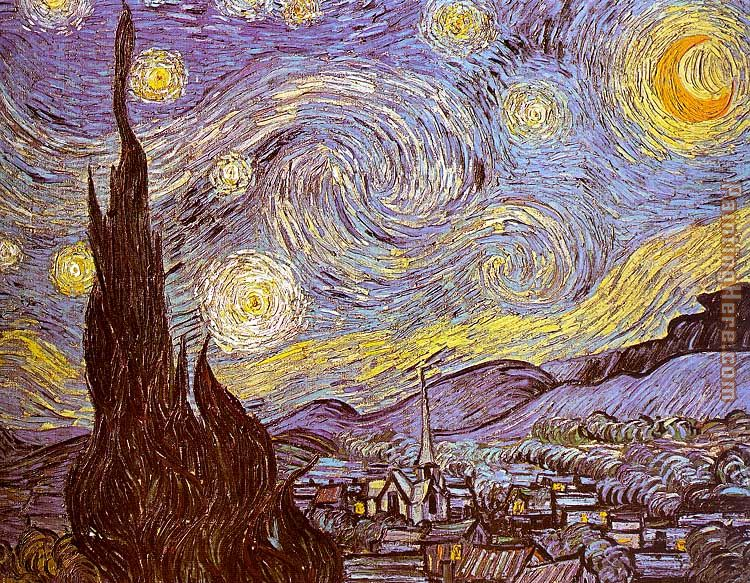 Vincent van gogh the starry night saint remy painting anysize 50 off