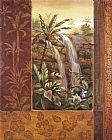 Vivian Flasch Tropical Waterfall I