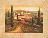 Vivian Flasch Tuscan Sunset I