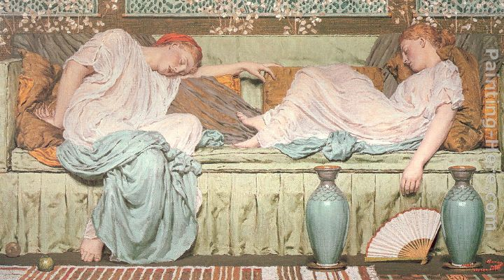 Albert Joseph Moore Apples