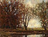 Arnold Marc Gorter A View Of The Vordense Beek