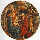 Cosme Tura Adoration of the Magi (from the predella of the Roverella Polyptych)