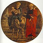 Cosme Tura Flight to Egypt (from the predella of the Roverella Polyptych)