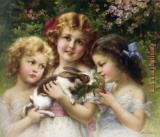 Emile Vernon The Pet Rabbit