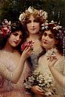 Emile Vernon The Three Graces