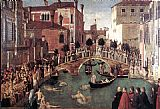 Gentile Bellini Miracle of the Cross at the Bridge of S. Lorenzo
