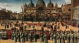 Gentile Bellini Procession in Piazza S. Marco
