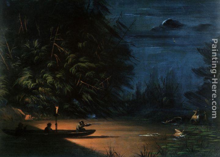 easy night scene paintings - photo #16
