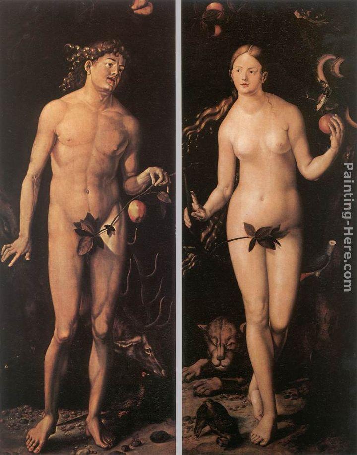 Lempicka Adam And Eve Hans Baldung Adam And Eve