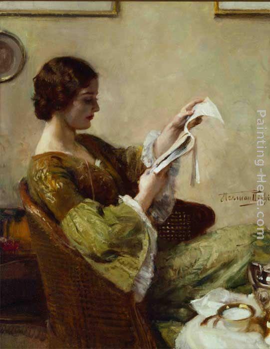 hermann jean joseph richir young woman reading painting anysize 50 off