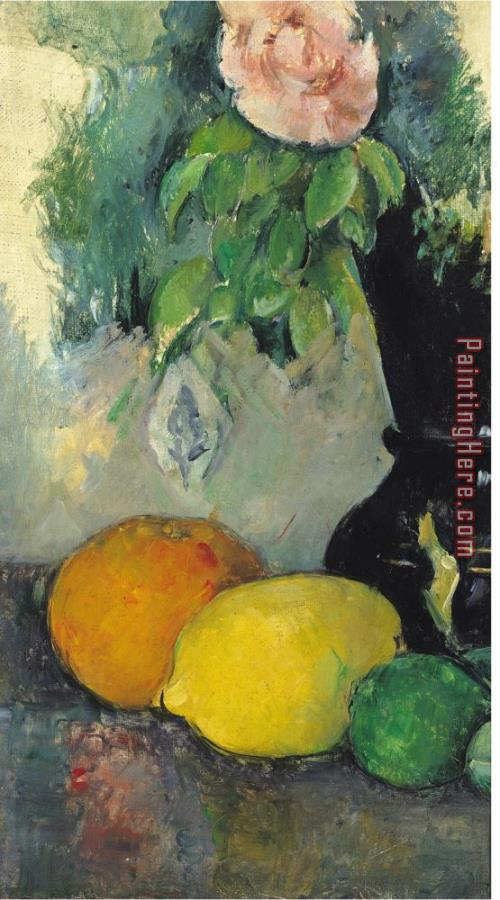 Paul Cezanne Flowers And Fruit - 75.8KB