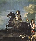 Sebastien Bourdon Queen Christina of Sweden on Horseback