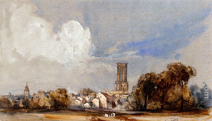 William callow aix bouche du rhone painting anysize 50 off for Bouche rhone