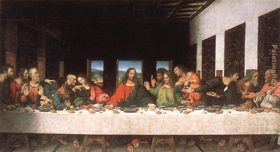 Leonardo da Vinci The Last Supper painting anysize 50% off
