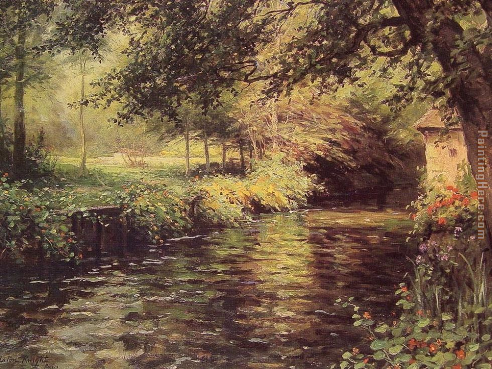 Louis Aston Knight A Sunny Morning at Beaumont-Le Roger