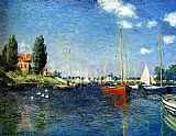 The Red Boats Argenteuil