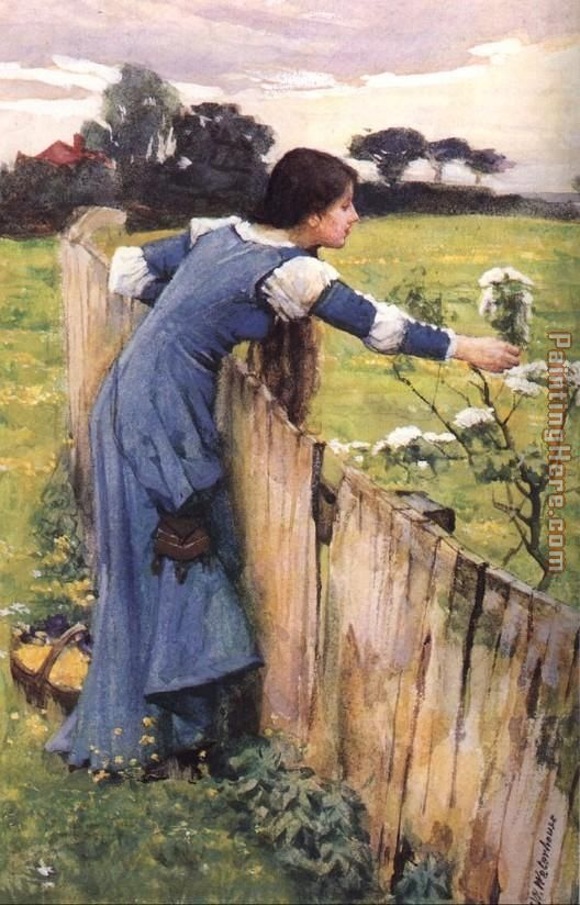 The Flower Picker by John Waterhouse